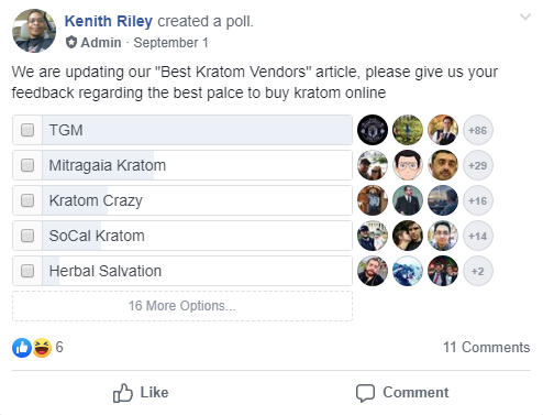 Kratom Vendor Pool