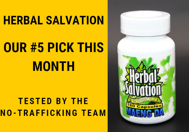 Herbal Salvation as 5th Best Kratom Vendor