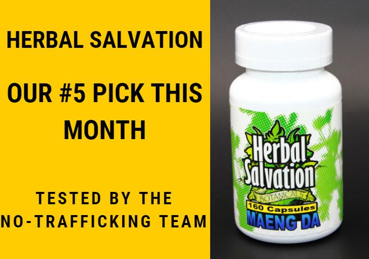 Herbal Salvation as 5th Best Kratom Vendor